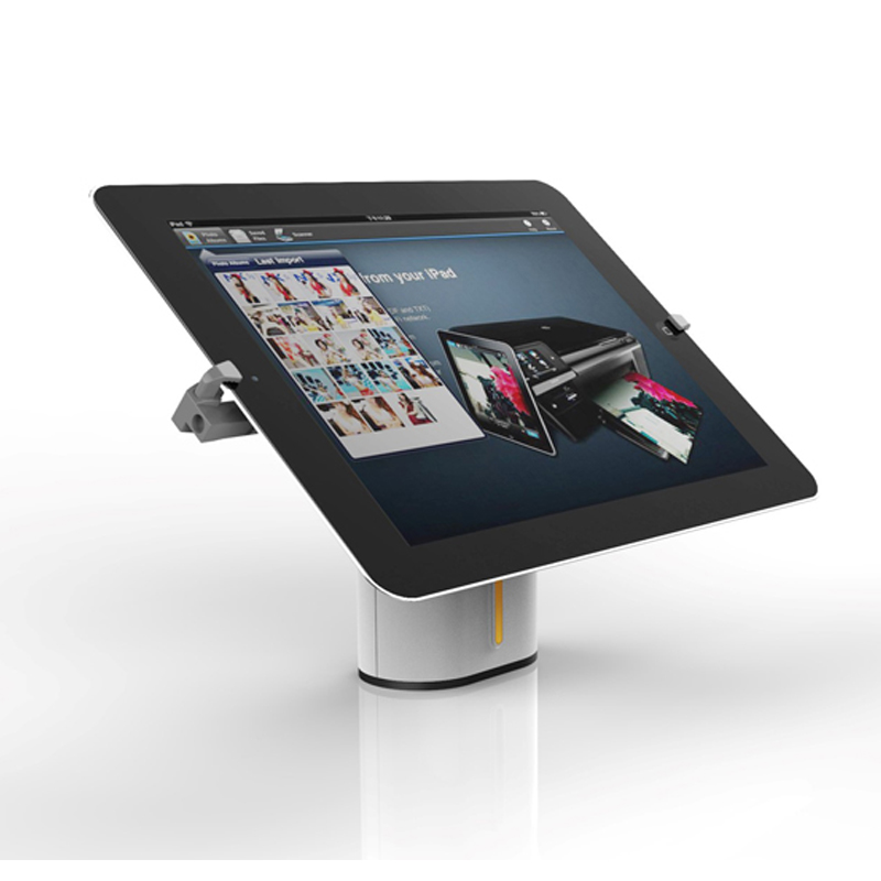 Retail security tablet display stand holder alarm with metal bracket SA1723