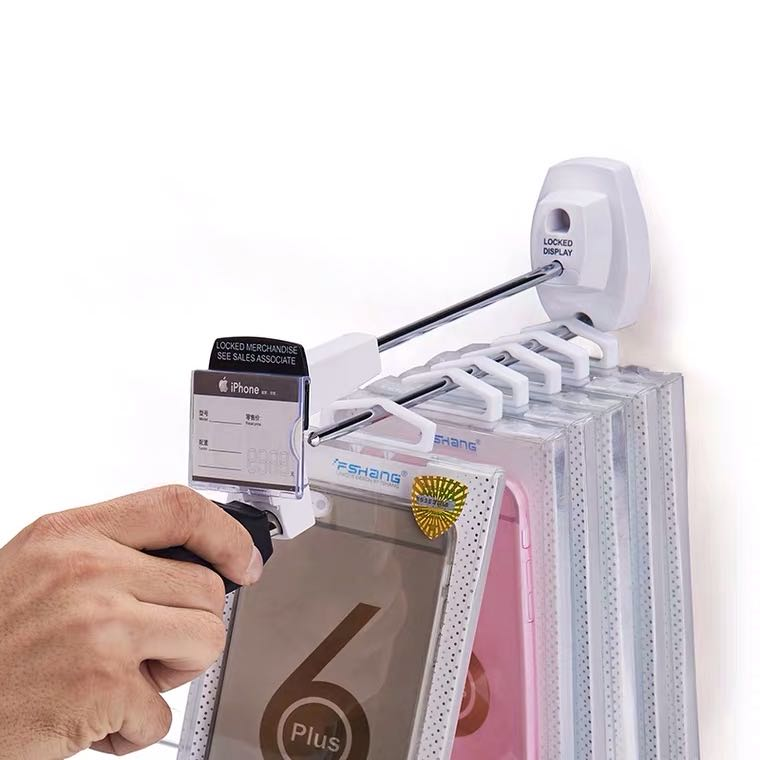 High security solutions for hanging merchandise on hooks